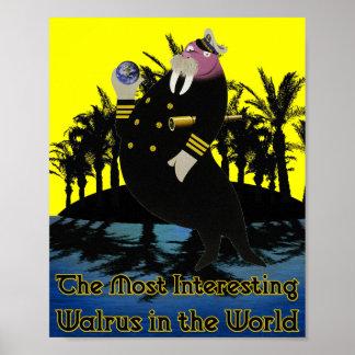 Das interessanteste Walroß in der Welt: Tropisch Poster