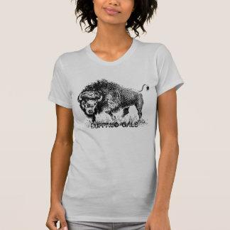 Das Jersey-T - Shirt Büffel-Gallonen-Frauen