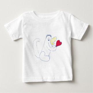 Das Jersey-T - Shirt der Liebe-Wanzen-Kinder