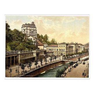 Das Kasino, Karlsbad, Böhmen, Austro-Ungarn selten Postkarte