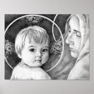 Das Kind und seine Mutter Poster