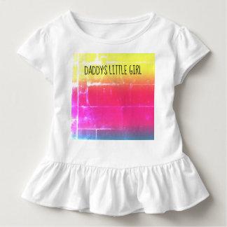 Das kleine Mädchen des Vatis Kleinkind T-shirt