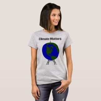 Das Klima-Angelegenheiten der Frauen T-Shirt