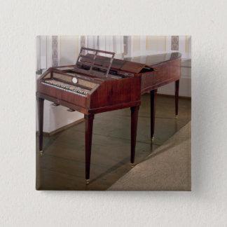 Das Konzertklavier von Franz Joseph Haydn Quadratischer Button 5,1 Cm