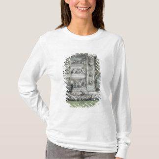 Das Krönen von Voltaire am Theater Francais T-Shirt