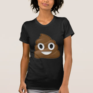 Das Lächeln kacken Emoji T-Shirt