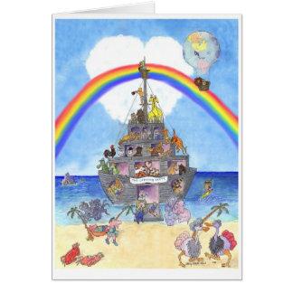 Das Landungs-Party II, Noahs Arche Karte