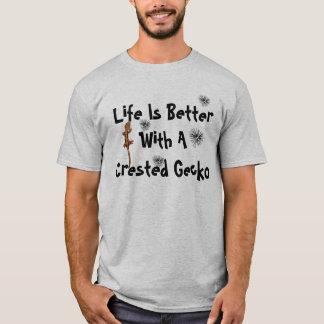 Das Leben ist besseres Gecko2 T-Shirt