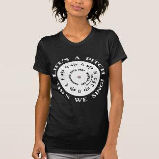 Das Leben ist eine Neigung T-Shirt