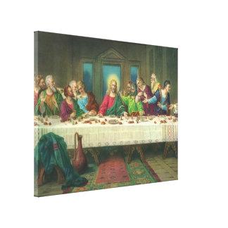 Das letzte Abendessen durch Leonardo da Vinci Leinwanddruck