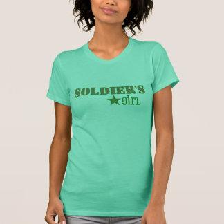 das Mädchen des Soldaten T-Shirt