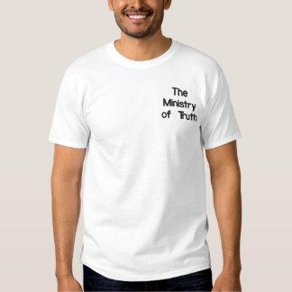 Das Ministerium der Wahrheit Besticktes T-Shirt