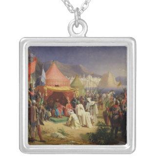 Das Nehmen von Tripoli 1842 im April 1102 Halskette Mit Quadratischem Anhänger