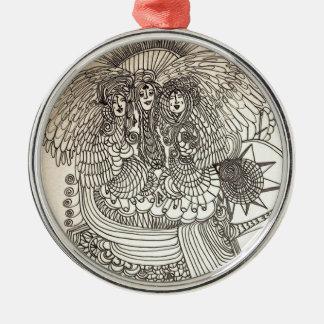 Das Norns Silbernes Ornament
