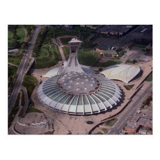 Das Olympiastadion, Montreal, Quebec, Kanada Postkarte