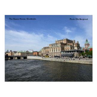 Das Opernhaus, Stockholm, Phot… Postkarte