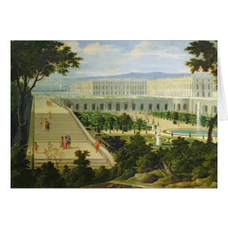 Das Orangerie am Chateaude Versailles Karte