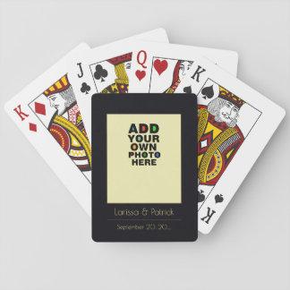 das Paar-Foto Spielkarten