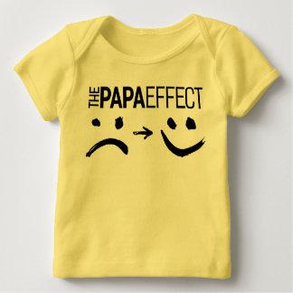 Das Papa-Effekt-T-Shirt Baby T-Shirt