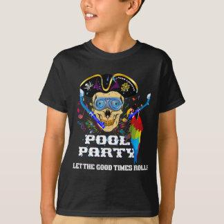 Das Piraten-Pool-Party scherzt WICHTIGES gelesen T-Shirt