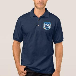 Das Polo-Shirt der Korona-Chaos-Männer Poloshirt