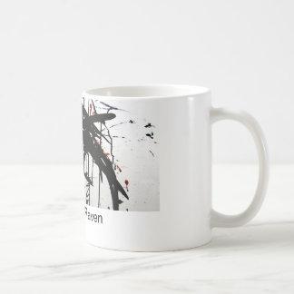 Das Raben-Fliegen Kaffeetasse
