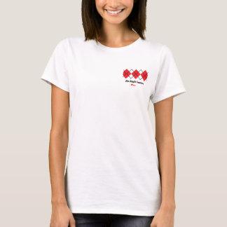 Das Rauten-Strickjacke-Mamma-Shirt T-Shirt