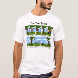 Das Reifen-Schwingen T-Shirt