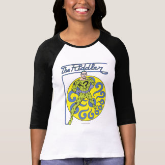 Das Riddler u. das Logo lila T-Shirt