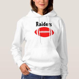 Das rote Fußballfan-kundenspezifischer Hoodie