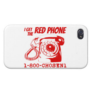 Das rote Telefon iPhone 4 Hüllen