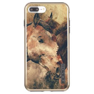 Das rustikale Pferd II Incipio DualPro Shine iPhone 7 Plus Hülle