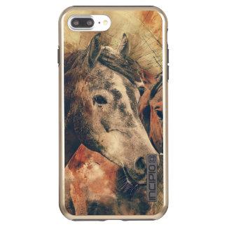 Das rustikale Pferd Incipio DualPro Shine iPhone 7 Plus Hülle