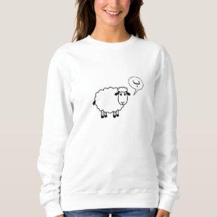 Das Schaf geht Ba Sweatshirt