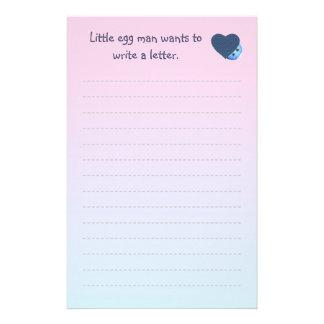 Das Schreiben der Kinder Briefpapier
