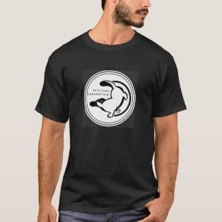 Das schwarze T-Stück der Platypus T-Shirt