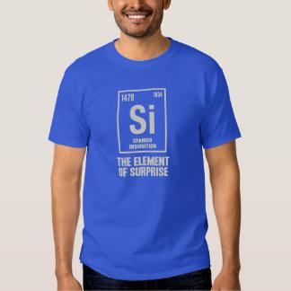 Das spanische Element T-shirts