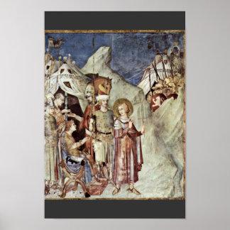 Das St Martin kann durch den verschobenen Kaiser Poster
