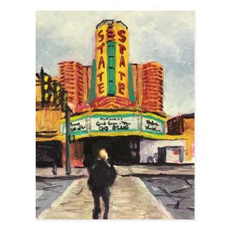 Das Staats-Theater Ann Arbor Postkarte