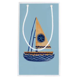 Das Stammes- Segelboot Kleine Geschenktüte