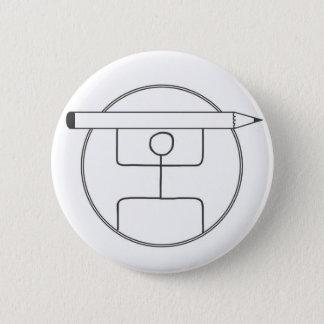 Das Stammes- Sketchnoter Logo Runder Button 5,7 Cm