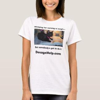 Das Studieren für die Pflege ist stark (niedliches T-Shirt