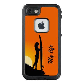 Das Surfen ist mein Leben LifeProof FRÄ' iPhone 7 Hülle