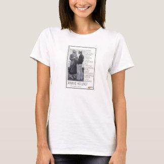 """Das T-Stück """"der Annie-Jagdhund-"""" bequemen Frauen T-Shirt"""