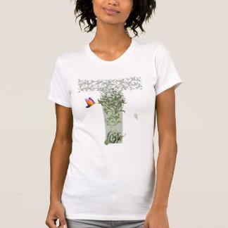 Das T-Stück der Detail-Gedanken-Frauen T-Shirt