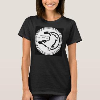 Das T-Stück der Platypus Konsortium-Frauen im T-Shirt