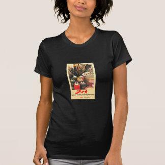 Das T-Stück Kunstzitat ladies T-Shirt