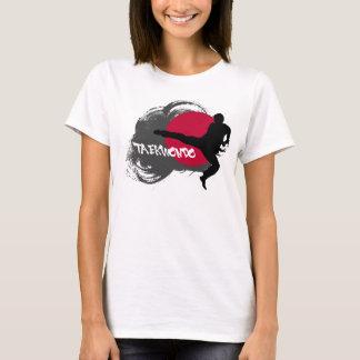 Das Taekwondo-Shirt der Frauen T-Shirt