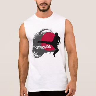 Das Taekwondo-Trägershirt der Männer Ärmelloses Shirt