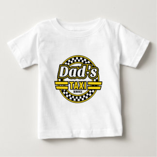 Das Taxi-Service-Logo des Vatis Baby T-shirt